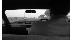 Cestou z letiště, venku je šílený smog