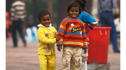 Děti jsou všude v principu stejné - před zásahem