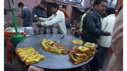 Rychlé občerstvení na ulici - Staré Dílí