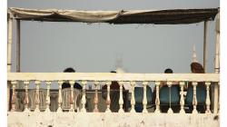 Náš ex-hotel (G)Host měl supr výhled na Taj Mahal, ale to bylo asi tak vše