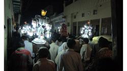 Svatba v ulicích Agry - úžasná záležitost