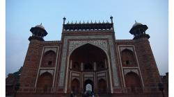 Vstupní brána do Taj Mahalu