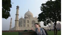 Ája a Taj Mahal