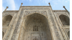 Taj Mahal - datail