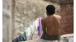 Na střeše se v Indii děje ledacos - odpočinek