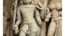 Khajuraho - chrámový komplex - výjevy z Kama Sutry