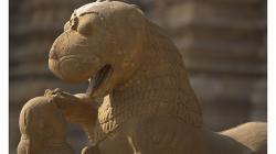 Khajuraho - chrámový komplex - divnozvíře