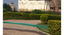 Khajuraho - chrámový komplex - reflexe