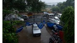 Jhansí - hodinu nám tam dokonce pršelo