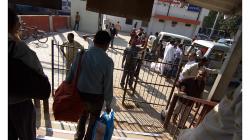 Varanasí - poprvé si užívám výstup z vlaku