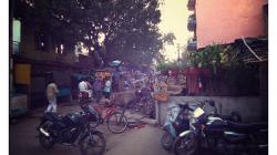 Varanasí - před hotelem