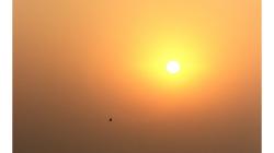 Varanasí - východ Slunce nad Gangou