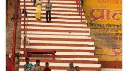 Varanasí - schody ghátu