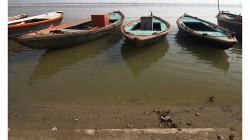 Varanasí - loďky