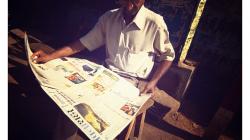 Varanasí - čtenář