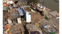Varanasí - pohled na město a řeku - ten noční vypadal lépe, co?