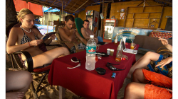 Goa - zevl v restauraci