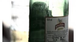 Goa - místní pivo Kingfish (ledňáček) - 0,6l za 50 rupií (necelých 25 korun