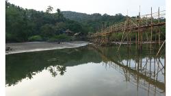 Goa - řeka v zadu za pláží
