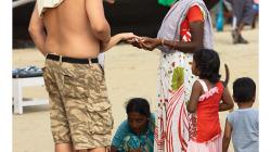 Goa - prodejci byli neskutečně dotěrní - tihle se chytli