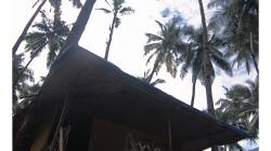 Goa - Palolem Beach - naše cocohut