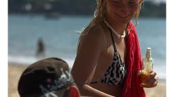 Goa - Palolem Beach - závidíte, co? :)