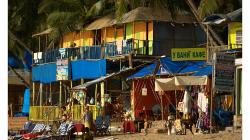 Goa - Palolem Beach - Rusko v Indii