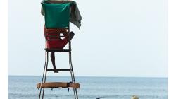 Goa - Palolem Beach - pobřežní hlídka