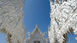 Wat Rong Khun - Bílý chrám