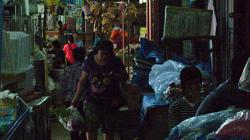 Trh pro místní v Chiang Rai