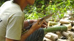 Výroba věcí z bambusu