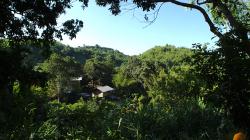 Jedna z vesniček v okolí Akha