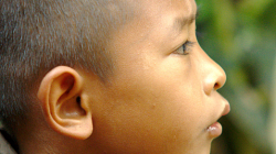 Děti v Akha