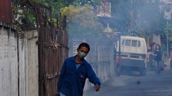 Ranní vyhaněč komárů z kanálů