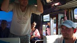 Cesta busem po Surat Thani
