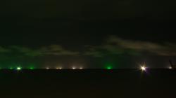Rybáři loví v noci
