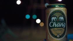 Chang - nejlepší thajské pivo