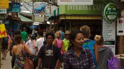 Město na Ko Phi Phi