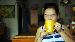 Ája a pravdapodobně zázvorový čaj