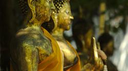 Chrámovačka v Chiang Mai