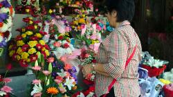 Trhy pro místní v Chiang Mai, moc s námi smlouvat nechtěli