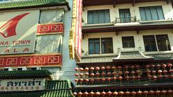 Čínská čtvrt v Bangkoku