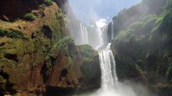 Vodopád Ouzoud / Ouzoud waterfalls