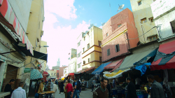 Stará část Casablancy / Old town of Casablanca