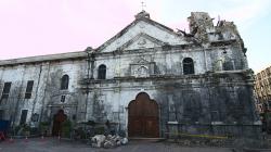 Následky zemětřesení v Cebu / Earthquake consequences in Cebu