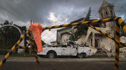 Následky zemětřesení na Panglau / Earthquake consequences in Panglao