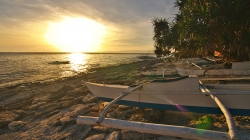 Jeepney na pláži / Jeepney on the beach