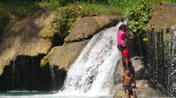 Vodopád Cambugahay / Cambugahay waterfall