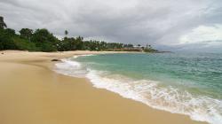 Prázdná pláž - Empty beach