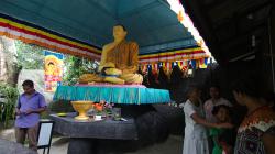 Chrám u Unawatuna - Temple by Unawatuna